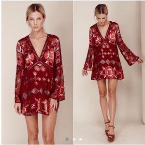 For Love & Lemons Barcelona A-line Dress (XS)
